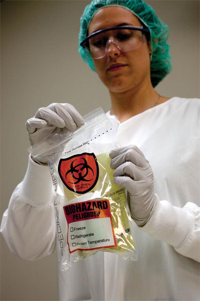 Biohazard Specimen Transport Bags